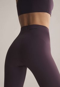 OYSHO - Leggings - dark purple - 3