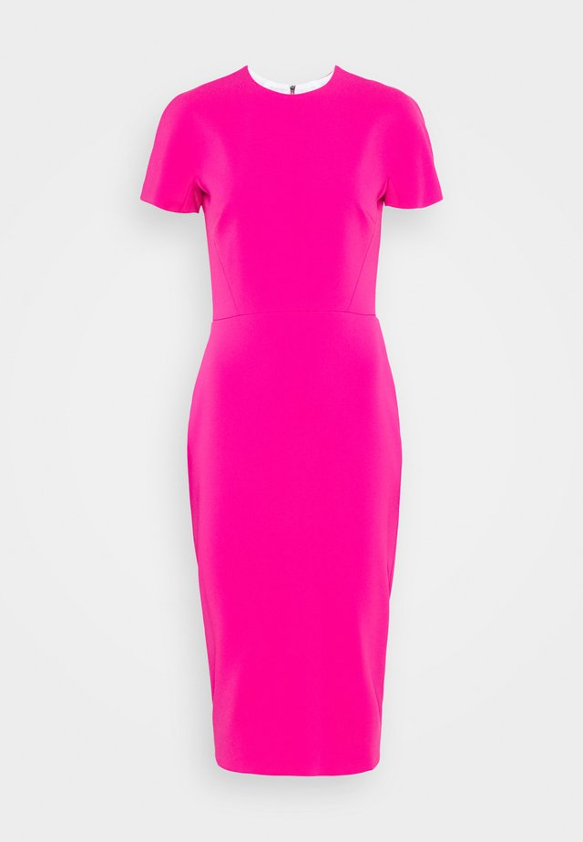 Shift dress - fuchsia