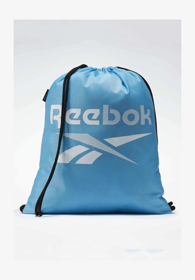 Reebok - TRAINING ESSENTIALS GYM SACK - Worek sportowy - turquoise