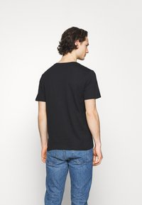 Cotton On - ESSENTIAL NECK TEE 3 PACK - T-shirt basic - black - 3