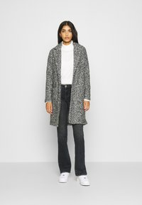 JDY - JDYLOOPY COATIGAN - Classic coat - salt/pepper - 1
