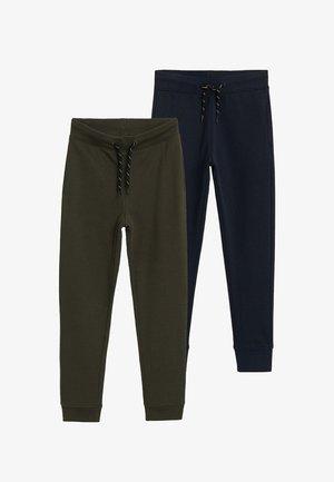 2 PACK - Pantalon classique - khaki/dark blue