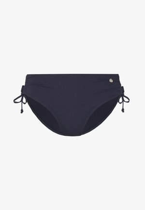 PANTS GATHERED - Bikini bottoms - anthracite