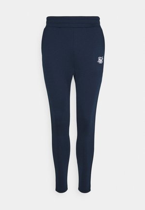 EXPOSED TAPE JOGGER - Pantaloni sportivi - navy