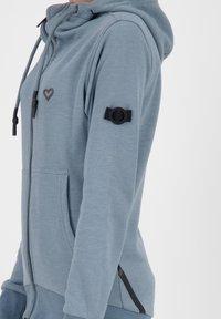 alife & kickin - Zip-up hoodie - steel - 4