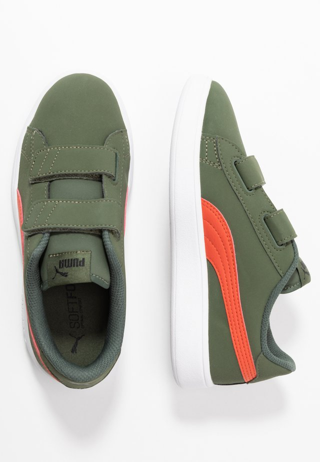 SMASH BUCK - Trainers - thyme/black