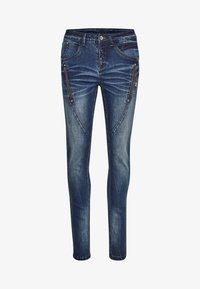 Cream - BIBIANA - Jeans Skinny Fit - rich blue denim - 3
