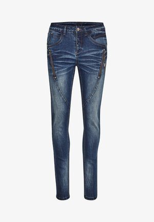BIBIANA - Jeans Skinny Fit - rich blue denim