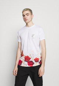Brave Soul - GOLDEN - Print T-shirt - optic white - 0