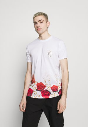 GOLDEN - T-shirt con stampa - optic white