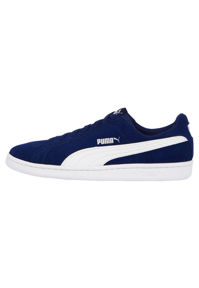 PUMA SMASH SUEDE TRAINERS MAN - Sneakers basse - blue