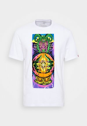 AMUN - Print T-shirt - optic white