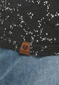 Ragwear Plus - T-shirt print - dark grey - 4