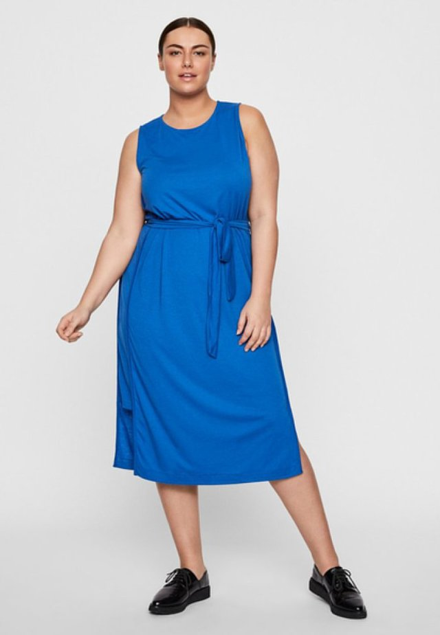 Korte jurk - victoria blue