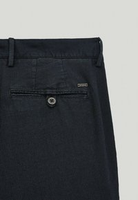 Massimo Dutti - Chinos - blue-black denim - 4