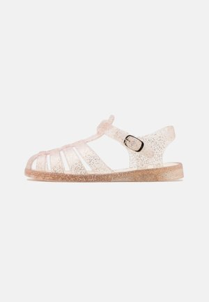 AMALFI JELLY  - Sandals - matte gold glitter
