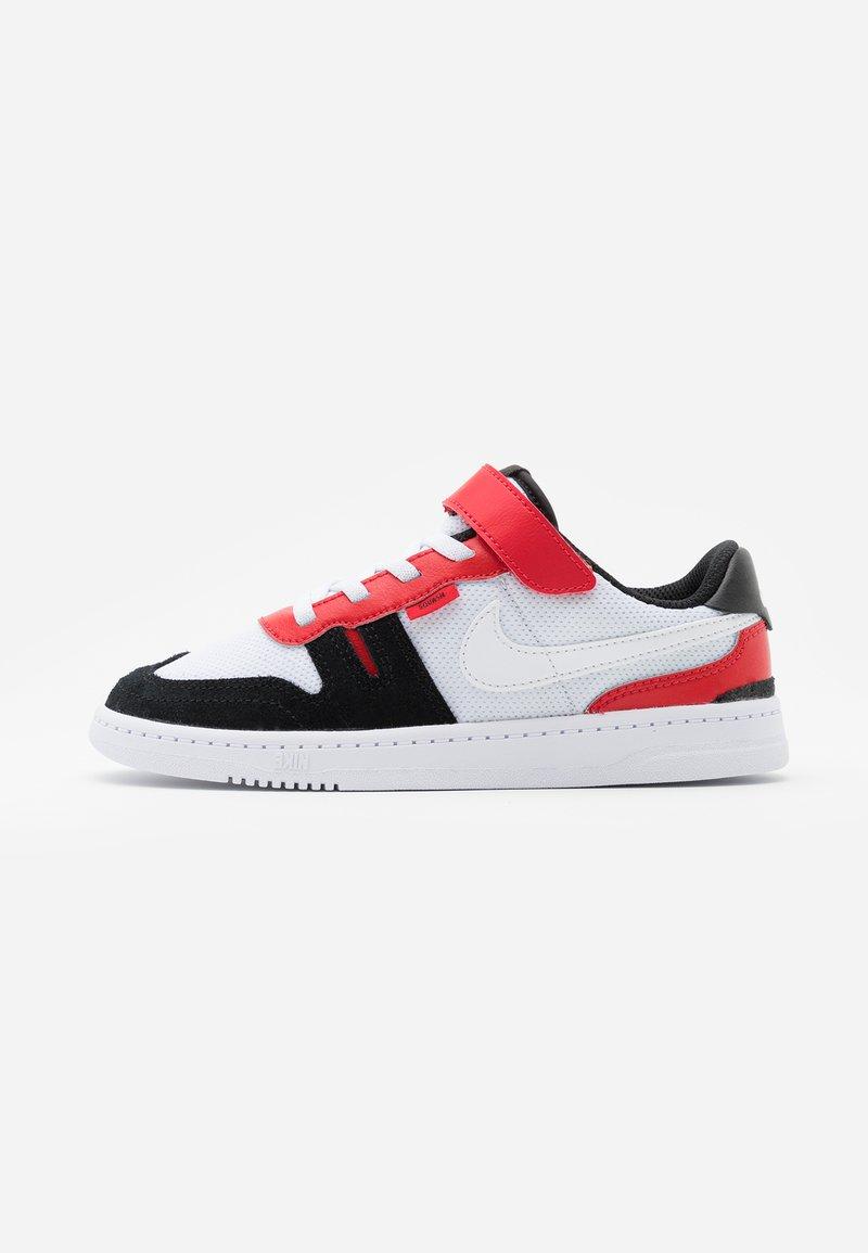 Nike Sportswear - SQUASH-TYPE UNISEX - Trainers - white/black/universitiy red