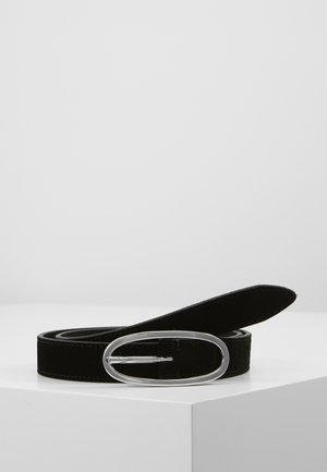 SATURN SUEDE BELT - Pásek - black