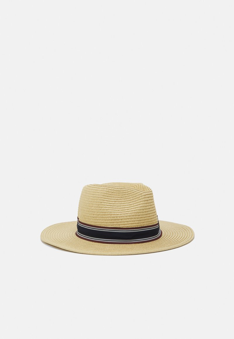 Selected Homme - SLHBAKER STRAWHAT - Hat - sand