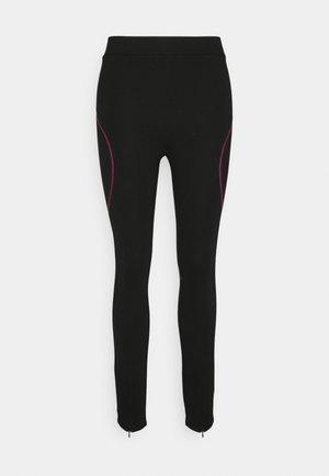 LOGO PUNTO - Leggings - Trousers - black