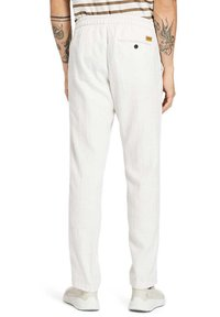 Timberland - Tracksuit bottoms - white sand - 2