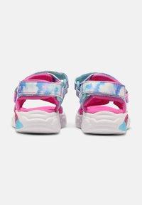 Skechers - RAINBOW RACER - Sandals - pink/light blue - 2