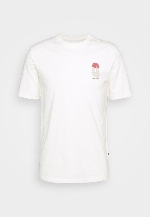 SAMI SHROOM - T-shirt imprimé - off-white