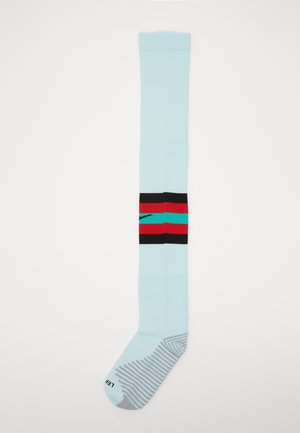 PORTUGAL - Knee high socks - teal tint/sport red/kinetic green/(black)
