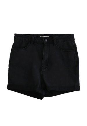 Jeansshort - schwarz