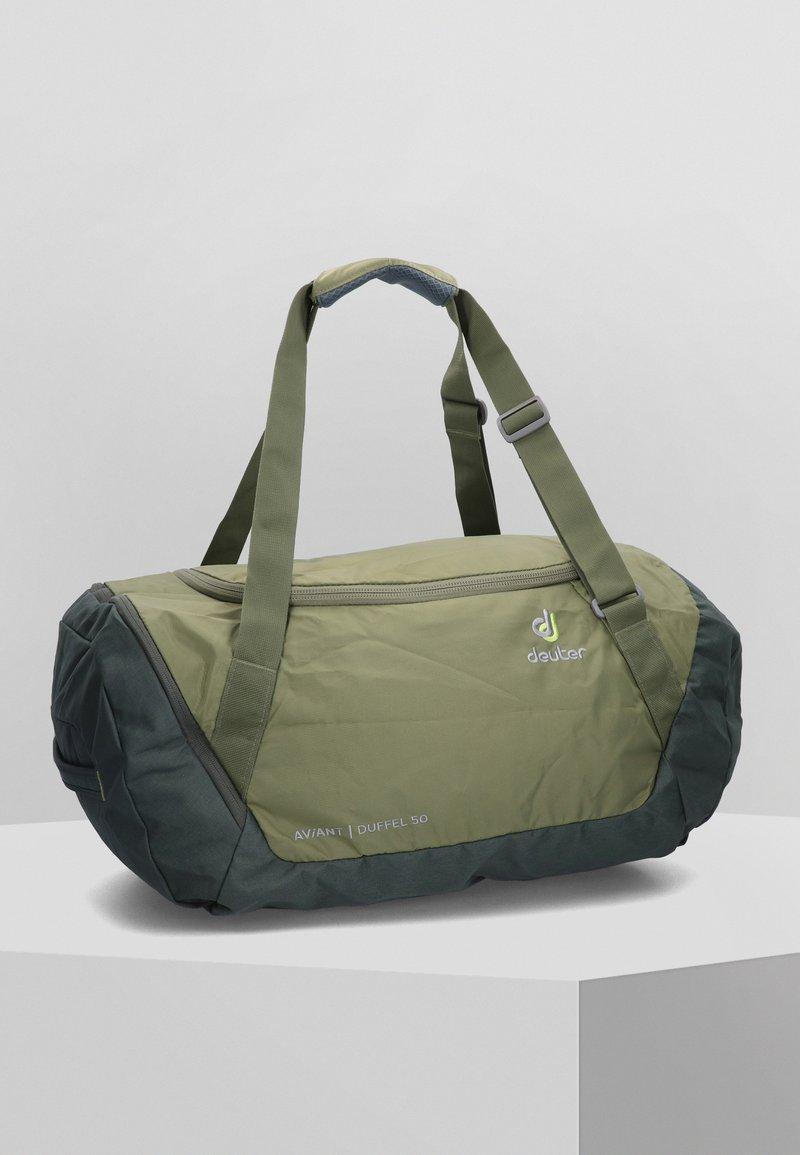 Deuter - AVIANT DUFFEL 50 - Sports bag - khaki/ivy