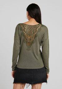 ONLY - ONLCAMI - Long sleeved top - kalamata - 2