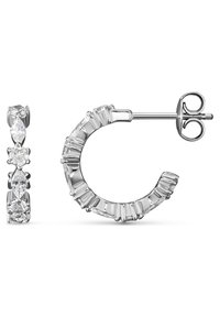 FAVS - DAMEN-OHRSTECKER 925ER SILBER 10 ZIRKONIA - Earrings - silber - 2