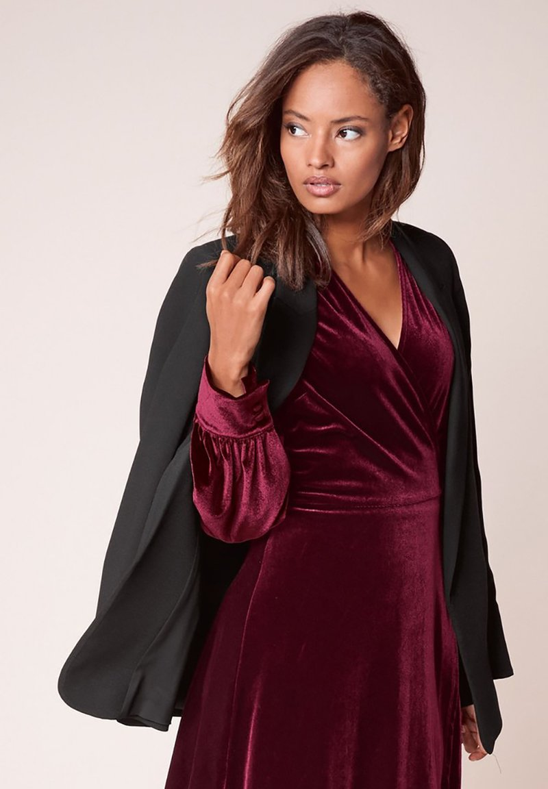 Next - SAGE RELAXED - Short coat - black