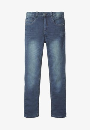 Straight leg jeans - blue/black denim