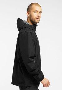 Haglöfs - BETULA GTX JACKET - Hardshell jacket - true black - 2