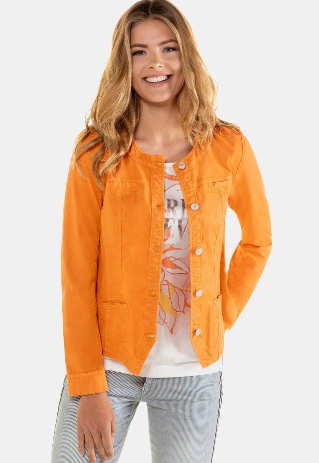 Veste en jean - orange