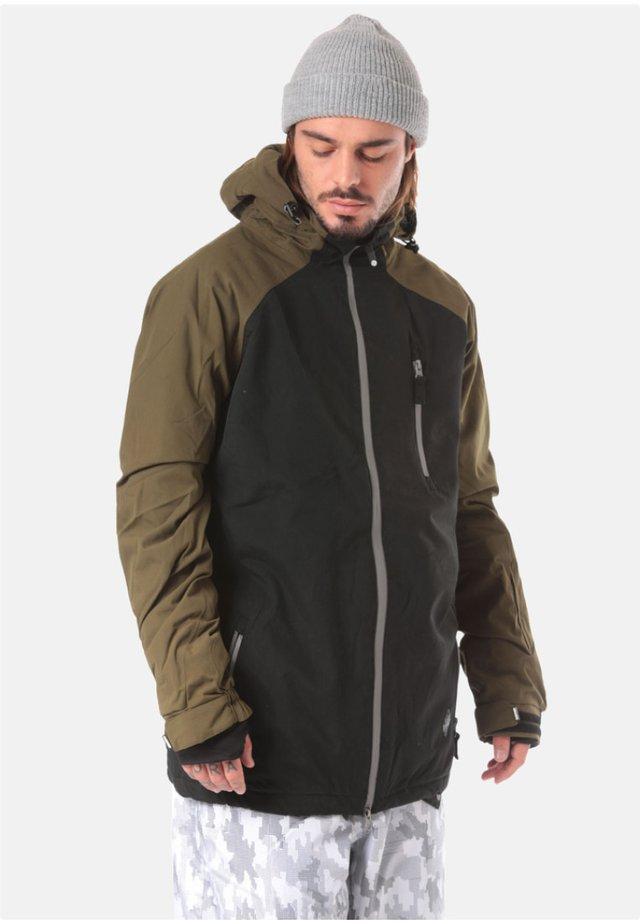 LIGHT BOARDCORP SLICE SNOWBOARDJACKE - Blouson - black