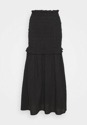 ARMERIA - Áčková sukně - black