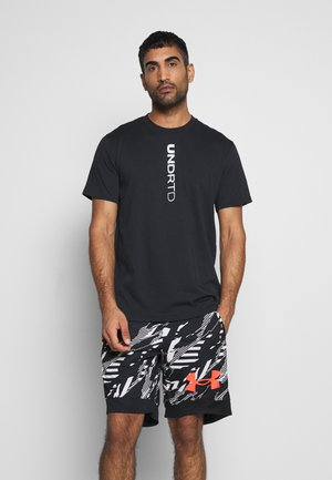 CURRY HEAVYWEIGHT TEE - Koszulka sportowa - black