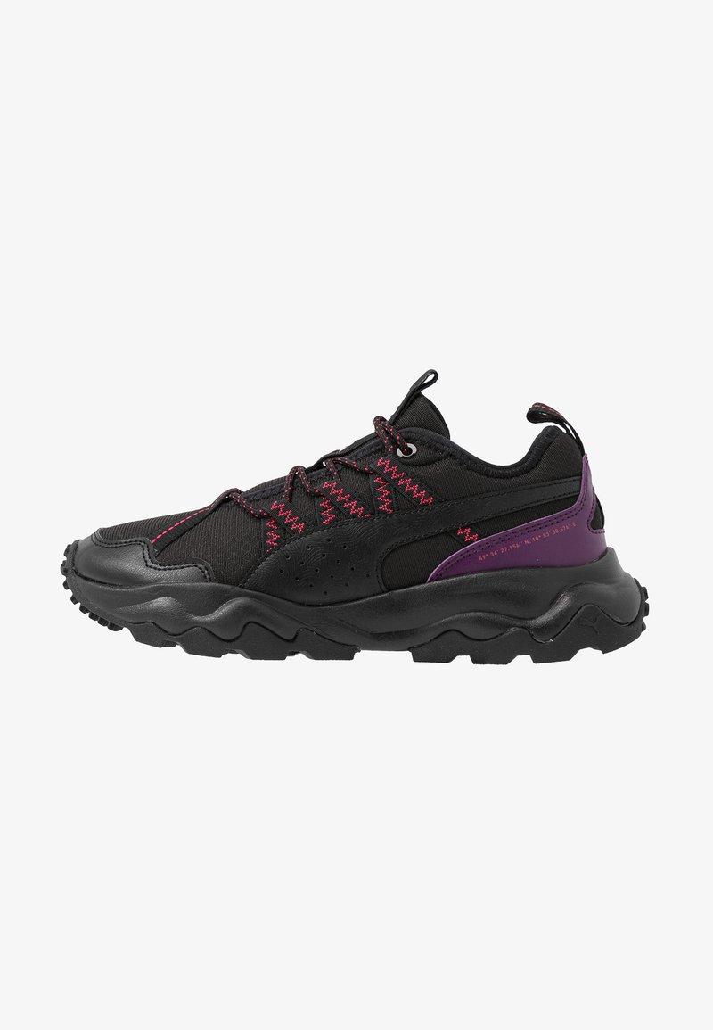 Puma - EMBER TRL - Obuwie do biegania Szlak - black/purple/nrgy rose