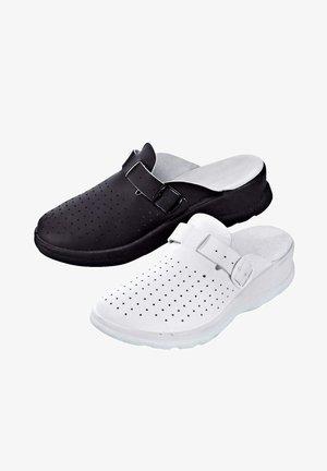 Clogs - weiß,schwarz