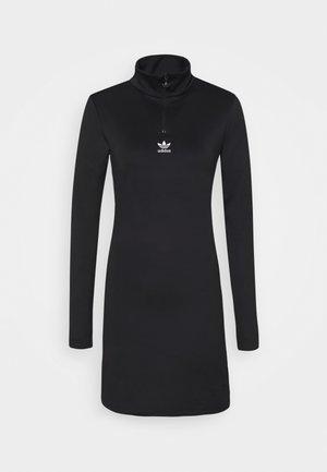 DRESS - Sukienka z dżerseju - black