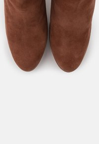 Even&Odd Wide Fit - LEATHER - High heeled boots - rust - 5