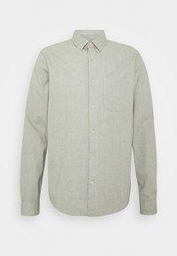 Scotch & Soda - BRUSHED OXFORD SHIRT - Shirt - grey melange - 0