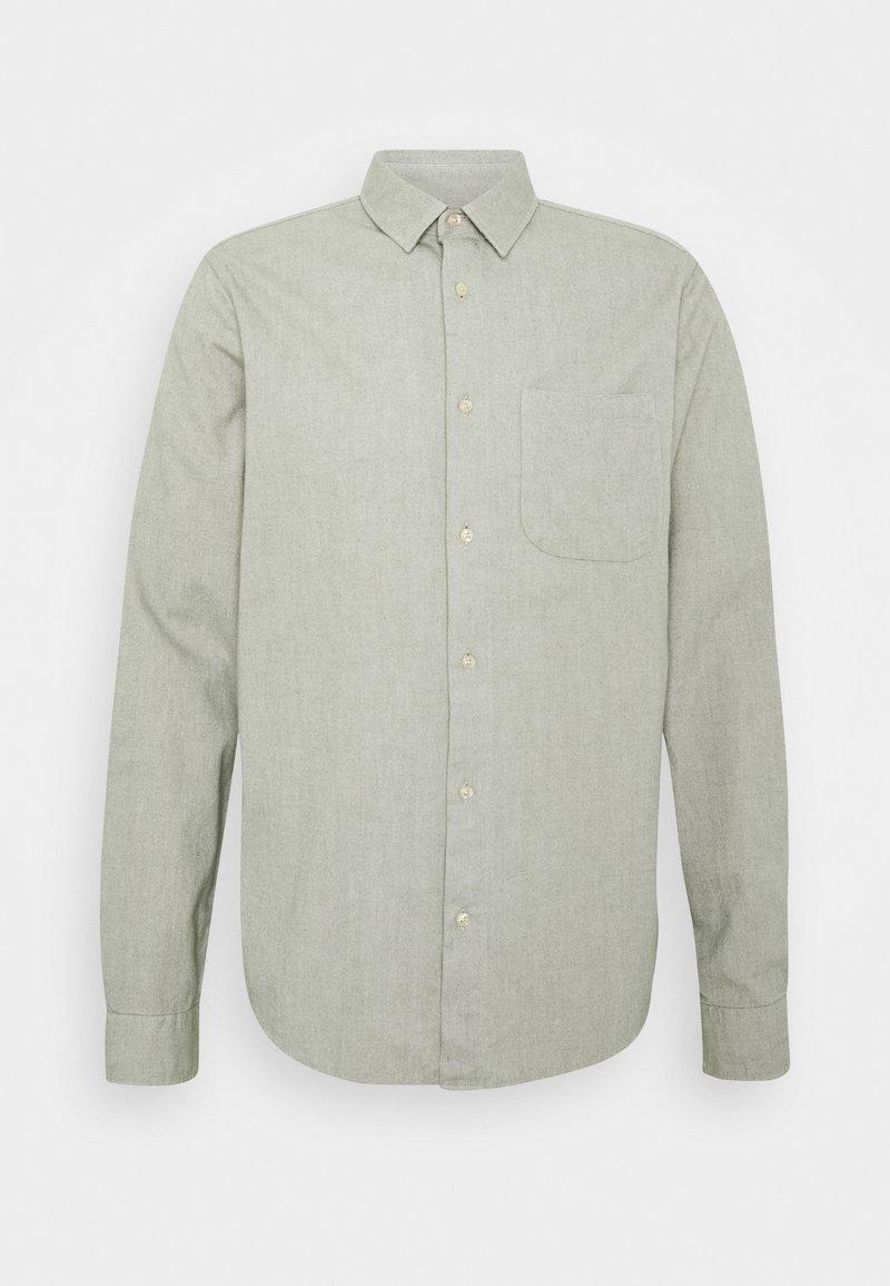 Scotch & Soda - BRUSHED OXFORD SHIRT - Shirt - grey melange
