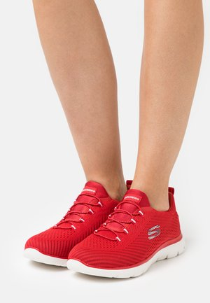 SUMMITS - Sneakers basse - red/white