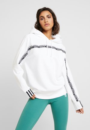 R.Y.V. LOGO HODDIE SWEAT - Bluza z kapturem - white