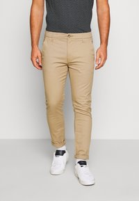 Burton Menswear London - STRETCH - Chino - stone - 0