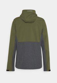 Icepeak - BASSUM - Soft shell jacket - dark olive - 1