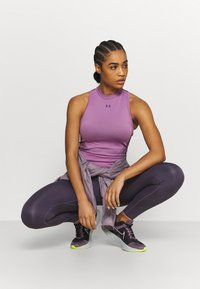 Under Armour - RUSH SEAMLESS CROP - Top - polaris purple - 1